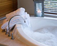 A warm bath relaxes the muscles, calms the nerves and provides holistic wellbeing.